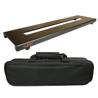 Mr.Power Mini Guitar Pedalboard With Magic Tape And Bag Case Made By Aluminium Alloy 18inch x 4.9inch / 46cm x 12.5cm New 270 F