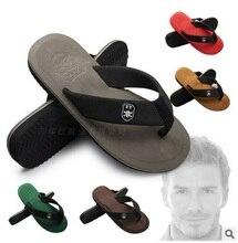 Hombres chanclas cool celebrity beach flip flops casual men's home flip flops comfortable and soft leisure street sandals