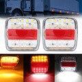 12V 26LED Anhänger Lkw Caravan Hinten Schwanz Licht Blinker Anzeige Bremse Bremsleuchte Rücklicht Anzahl Platte Licht Reverse van-in LKW-Lichtsystem aus Kraftfahrzeuge und Motorräder bei