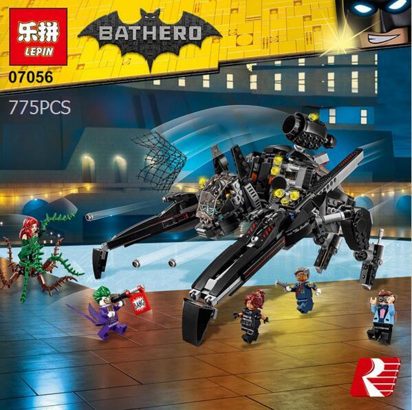 775pcs New Batman building blocks Super Heroes  Scuttler DIY Model bricks Kit Blocks Gifts Toys Compatible with lepin kids gift