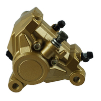 Right Rear Brake Caliper Brake Pump with Pads For Yamaha TZR125 1990 1992