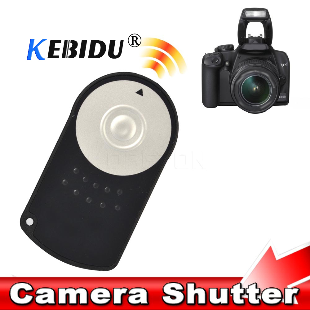 Kebidu New Rc-6 Rc6 Ir Infrared Wireless Remote Control Camera Shutter Release For Canon Eos Dslr 5d Mark Ii 500/550/600/650 D Pure Whiteness