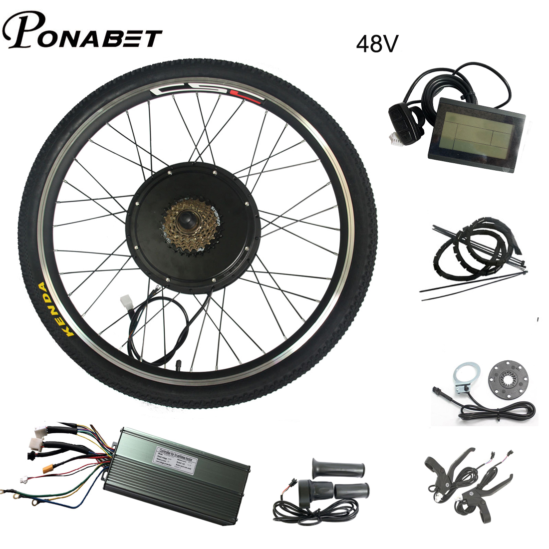 36v 48v electric bicycle battery 20 24 27 5 28 29 inch electric bike conversion kit