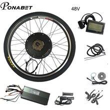 Аккумулятор для электрического велосипеда, 36 В, 48 В, 20, 24, 27,5, 28, 29 дюймов, комплект для переоборудования электрического велосипеда, колеса 250 В...