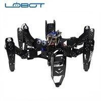 CR 6 Hexapod Robtics Six legged Spider Robot with 20CH Controller Servo Arduino Delvelopment Robot toy