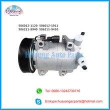 A/c kompressor für Nissan Navara Pathfinder Frontier Qashqai DKS17D 926004X01B 926004X30A 926009X500 5060121122 92600EB30A