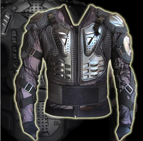 Motorcyclist protection armor clothing back movable cross country armor clothing shatter resistant clothing