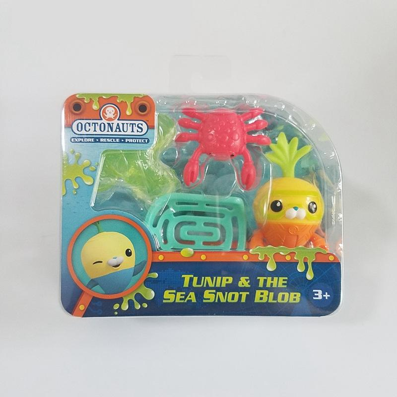 Octonauts action figures Tunip & the sea snot blob  child Toys birthday gift pretend toy blob blob big yellow
