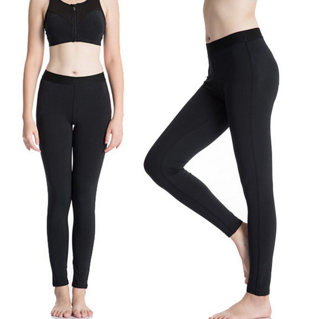 A06 Women's Leggings Casual Skinny Compression Full Pants Bottom Gear Skin Under Base Layer Quick Dry New 2016 Plus Size S-XXL