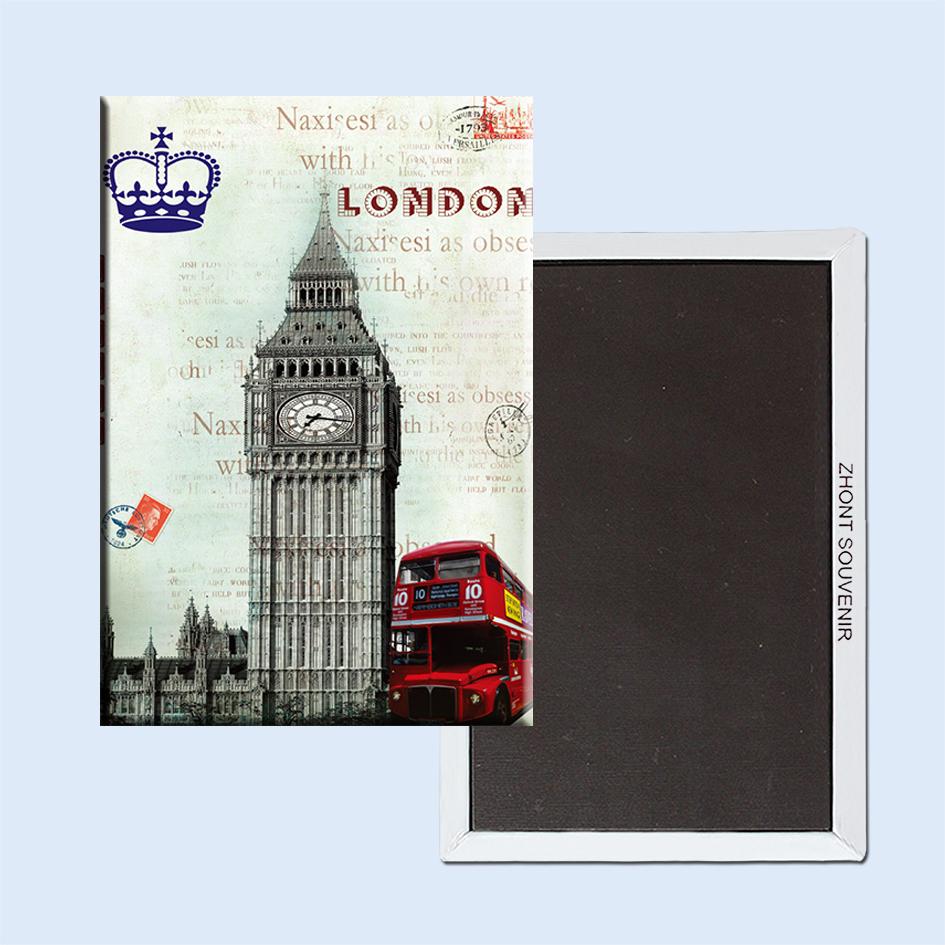 The Red Double Decker Buses London Postcards 22584