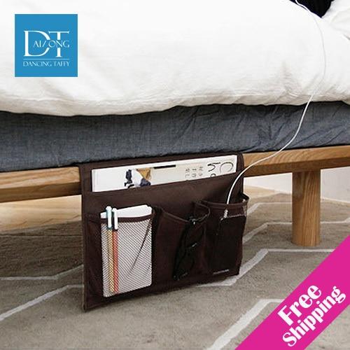 Buy new 2014 non woven fabric bedside for Bett organizer