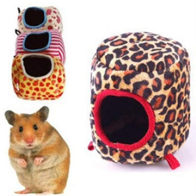 Hot 1Pc Pet Warm Soft Hammock House Pet Sleeping Bag for Ferret Rabbit Rat Hamster Squirrel Parrot Hanging Bed Mini House 2017