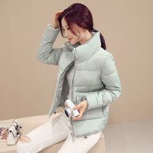 New Arrival Ladies Fashion Down Coat Winter Jacket Outerwear Short Wadded Jacket Female Padded Parka Overcoat Women qzx02