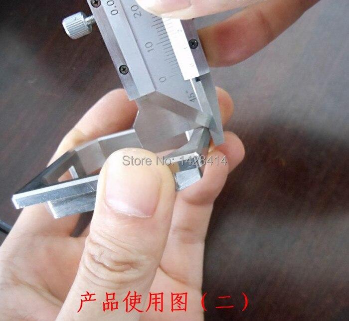 Winkelmesser Radient 45 Degree Dreieckige Mess Lineal Edelstahl Dreieck Quadrat Rafter Geschwindigkeit Platz T Und Tri Winkel Platz Mulitscribe Werkzeuge