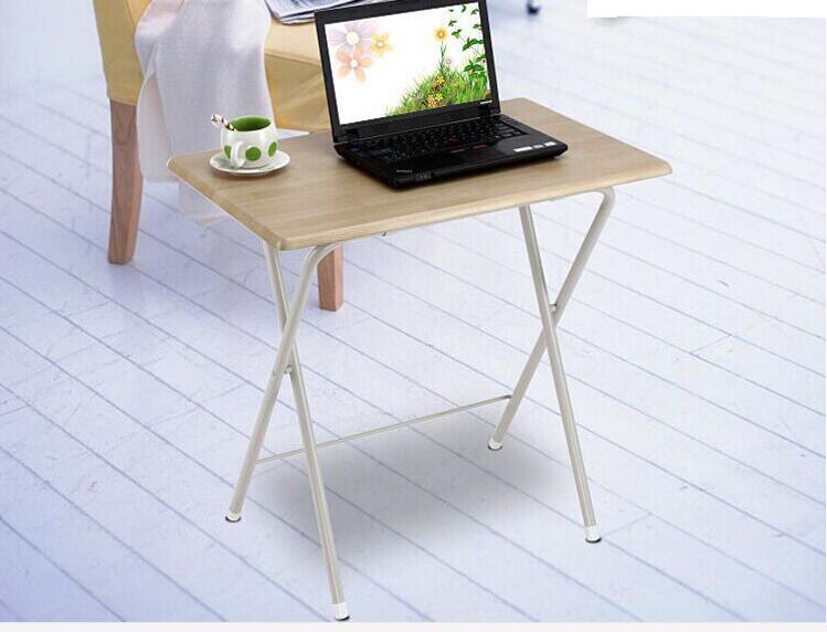 75*50CM Wood Laptop Table Portable Writing Desk Folding Notebook Computer Desk 75 60cm wall mount hanging table wood folding dining table children study desk laptop desk