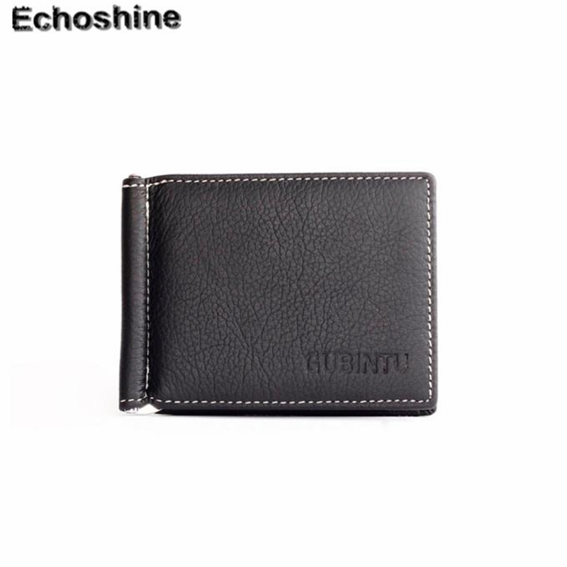 Slim Fold flip wallet  easy to carry around Men Leather Bifold Wallet Credit ID Card Holder Slim Coin Purse A0000 zelda wallet bifold link faux leather dft 1857