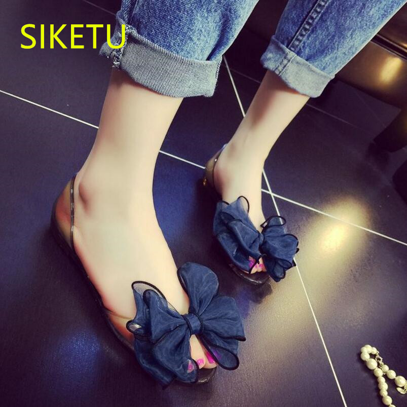 SIKETU Free shipping Summer sandals Fashion casual shoes sex women shoes flip flop Flat shoes Flats l061 flip flop Transparent women shoes 2018 summer breathable fashion lady s casual shoes lace up girls handmade women woven shoes flip flop footwear 599w