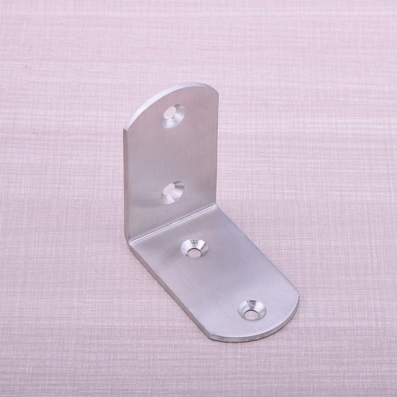Hot Sale 50pcs Lot 65mm 65mm Steel Hardware Corner Bracket Bed Frame