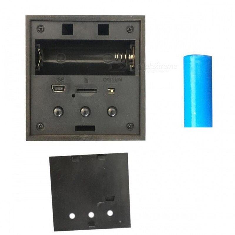 HD 1080P Wireless Camera Alarm Clock Mini Camera Home Security Surveillance Camera Recorder with Night Vision Remote Control Cam