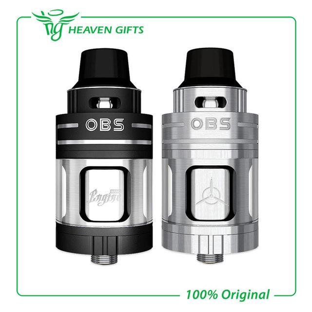 100% Original OBS Motor Motor Nano Nano RTA Atomizador 5.3 ml Tanque Vaporizador Cigarrillo Electrónico Atomizador Rebuiltable