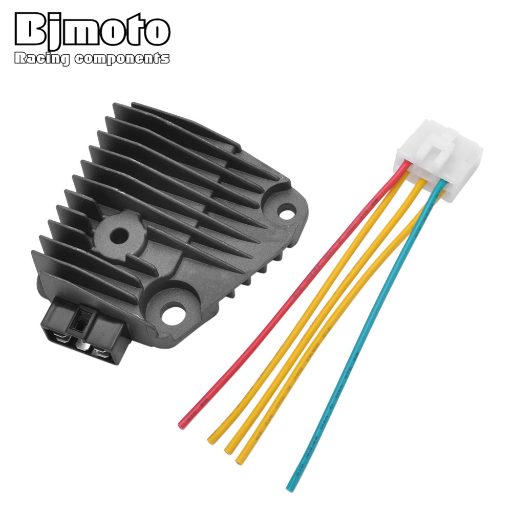 Bjmoto Motorcycle Motocross Xv 125 250 Moto 12v Regulator Rectifier Schematic Plug For Yamaha Xv125 Xv250 In Motorbike Ingition From Automobiles