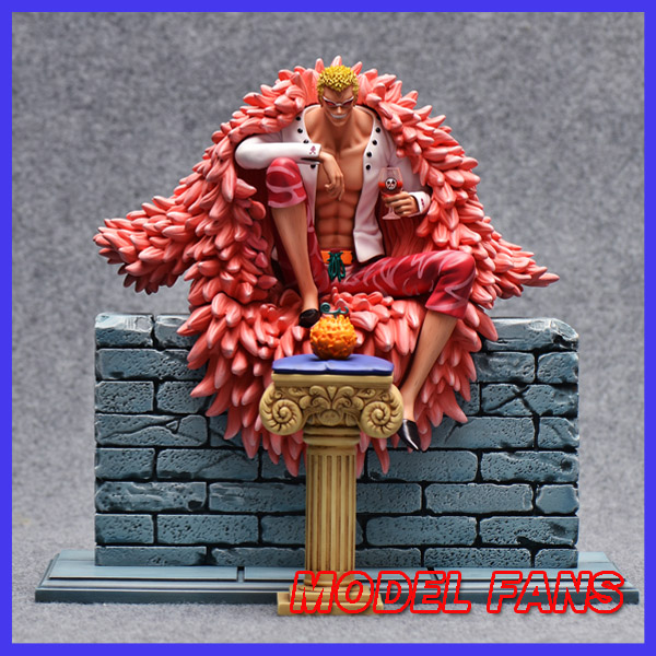 MODEL FANS instock One Piece 31cm Donquixote Doflamingo Sitting position gk resin toy Figure for Collection model fans instock one piece 18cm donquixote doflamingo vs trafalgar law gk resin toy figure for collection