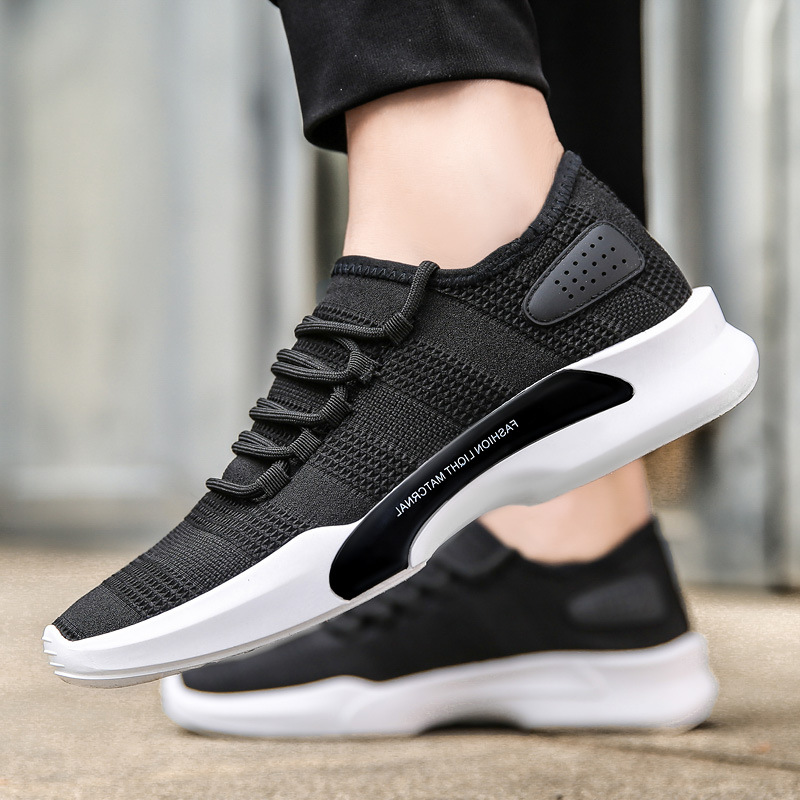 24db852f22534 Summer Mesh Men's Sneakers Breathable Running Shoes Men Simple Style Sports  Shoes Trainers Running Shoes for Male