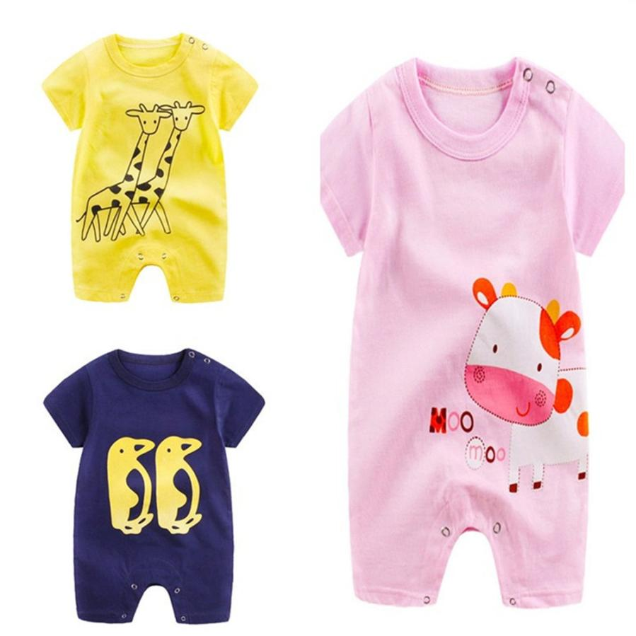 Mri-le1 Newborn Baby Long Sleeve Jumpsuit Happy Thanksgiving Chicken Baby Rompers