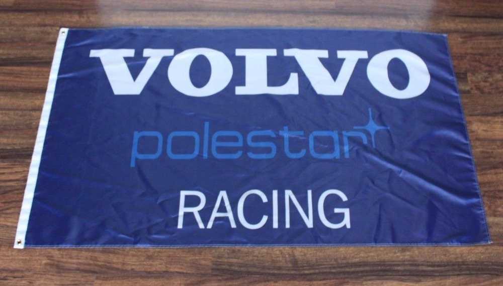 New Blue Volvo Polestar Racing Team American High Quality Flag 3x5ft Custom Flag Drop Shipping