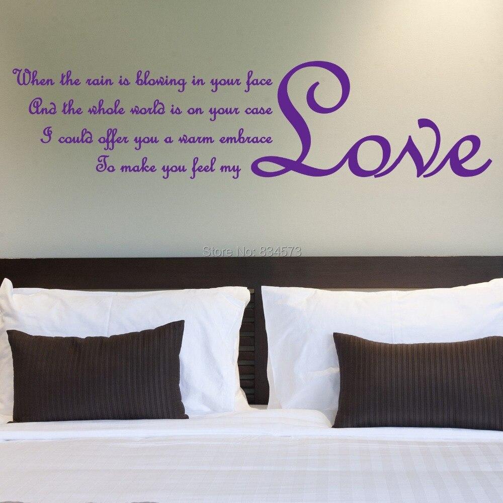 Online get cheap liefde teksten alibaba group - Volwassen kamer decoratie ...