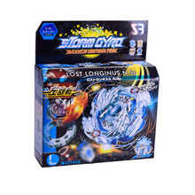 лучшая цена Bey Spinning Top blade Burst B34 B35 B41 B48 B66 B59  Starter Zeno Excalibur .M.I (Xeno Xcalibur .M.I) with launcher kids toys