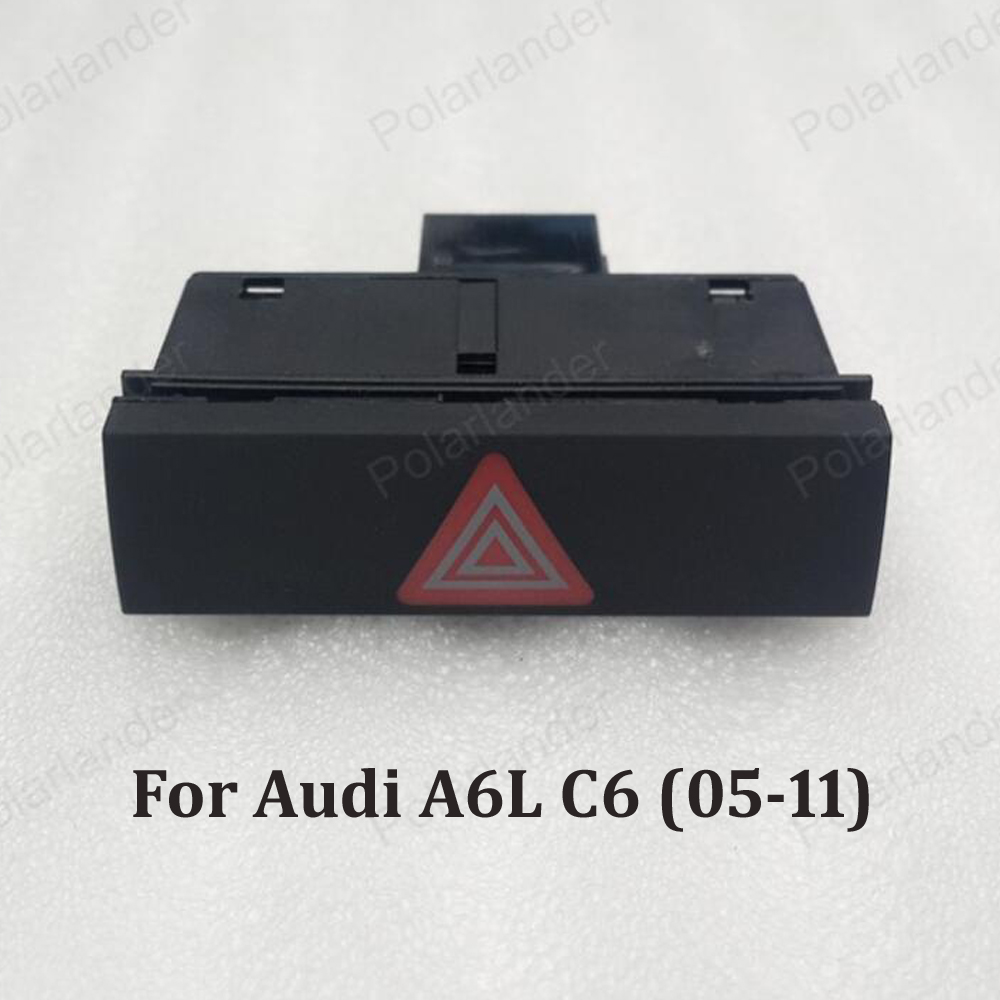 Emergency Light Dual-Flash Switch button 4F0 941 509 For A-udi A6L C6 (05-11)