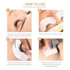 Image 5 - Zwellbe 10/20/50 คู่ Eye Patches สำหรับ Eyelash EXTENSION กระดาษแพทช์ 4 สี Grafted Under Eye Pads สติ๊กเกอร์เคล็ดลับเครื่องมือแต่งหน้า