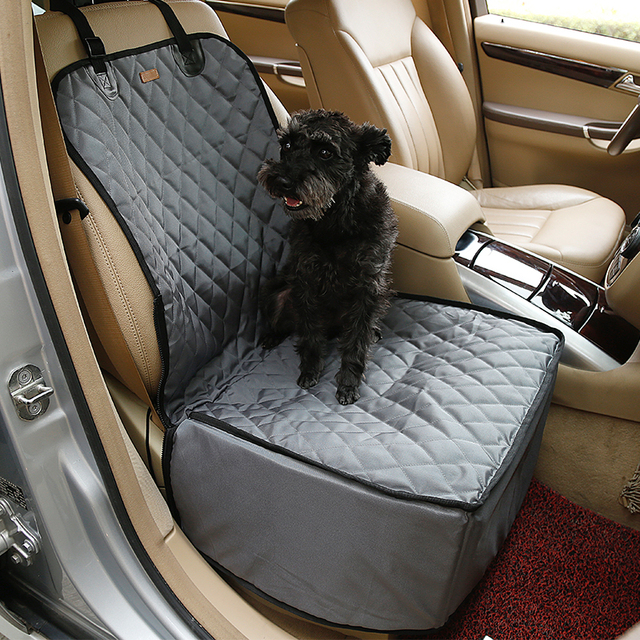 Naturelife Waterproof Dog Car Seat Cover Pet Rear Carrier Mat Blanket Hammock Dog Car Seat Back Protector Safe Dog Accessories  5