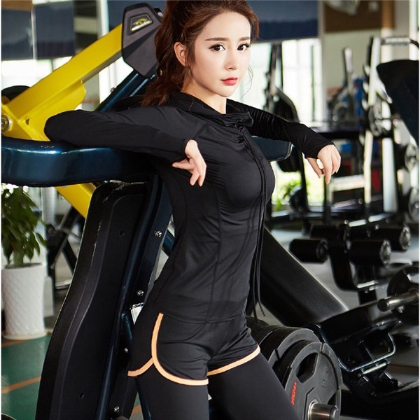 Hooded Women's Sports Jacket for Running and Workout