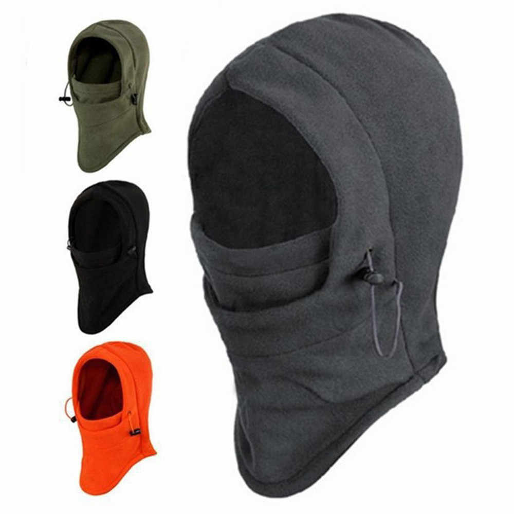 2018 New 6 in 1 Outdoor Ski Masks Bike Cyling Beanies Winter Wind Stopper Face Hats #NE920
