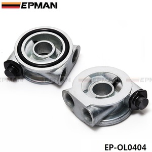 Image 4 - OIL COOLER FILTER SANDWICH PLATE + THERMOSTAT ADAPTOR  (AN10 or AN8) FITTINGS  EP OL0404