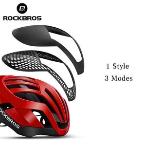 Image 2 - ROCKBROS Mountain Bike Helmet 3 in 1 MTB Road Cycle Helmets Mens Safety Helmet Integrally Molded Pneumatic Cycling Helmets