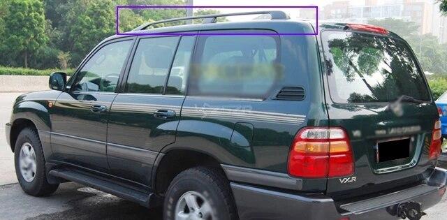 oem aluminum car roof bars roof rack for toyota land cruiser fj100 ujz100 1998 2007 z2aae014