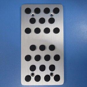 Image 2 - TTCR II Car Accessories Aluminium Accelerator Gas Brake Footrest Pedals Pad pads for Lexus RX 450 270 ES 250 300 350 240 AT