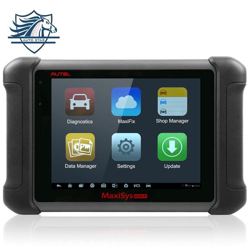 Новое поступление 100% оригинал Беспроводной Autel MaxiSys ms906bt Bluetooth автоматический диагностический сканер ms906 BT ЭБУ кодирования обновление онлай...