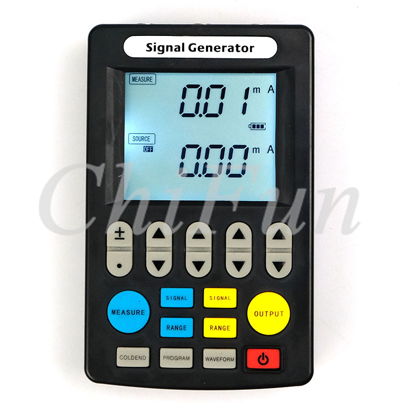 Freeshipping Signal Generator 4 20mA Signal Source 24V Current Voltage Thermocouple Generator Handheld Process Calibrator