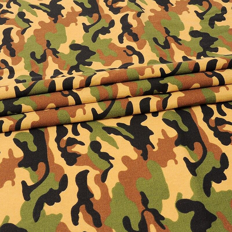 GGGGGO THUIS, katoen/polyester camouflage afdrukken canvas stof voor ...