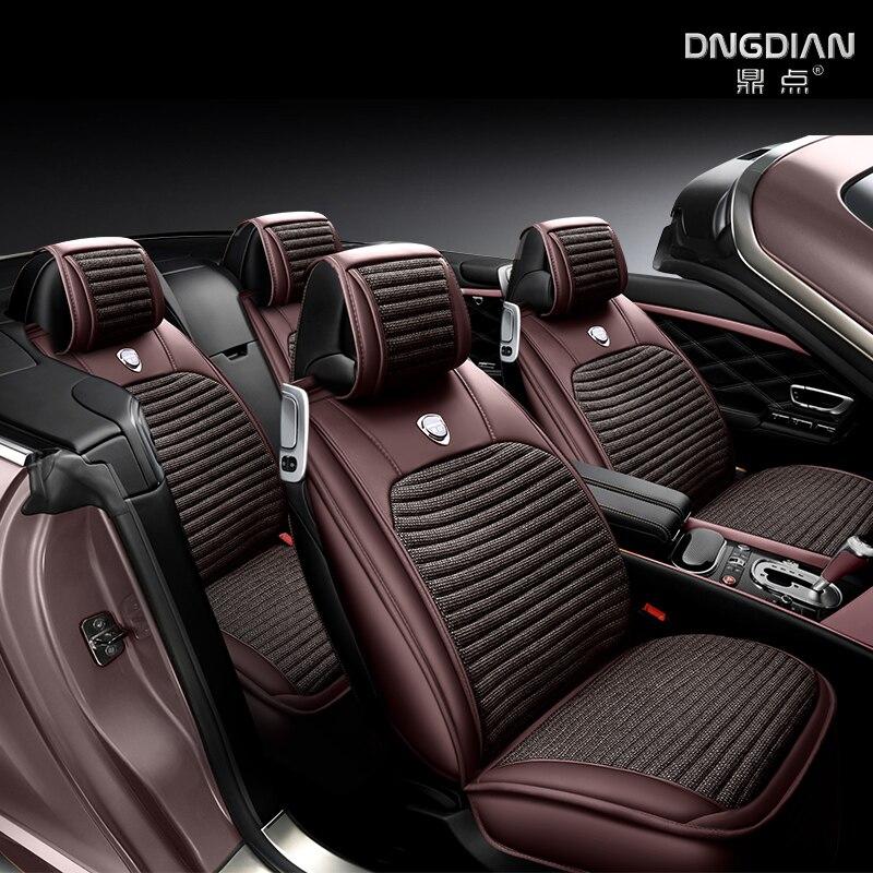 Couture de mode conception coussin de voiture housse de siège de voiture ajustement parfait le siège pour Skoda Octavia superbe Yeti Fabia spaceback Rapid