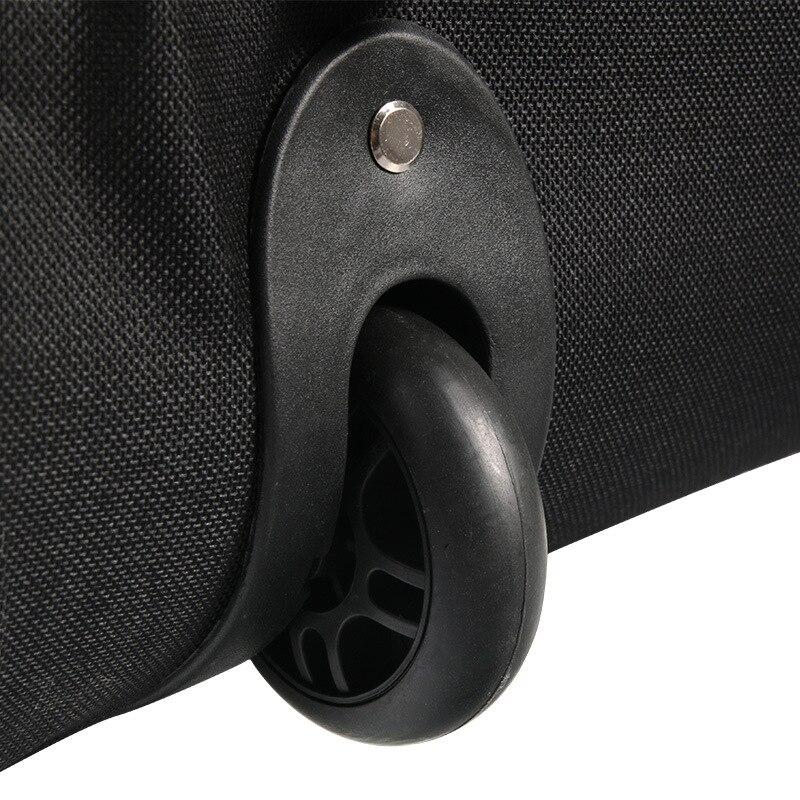 Bolsa de Golf de viaje con ruedas de almacenamiento de gran capacidad de bolso de Golf de aviación bolsa plegable avión viajar Nylon bolsas de Golf - 4