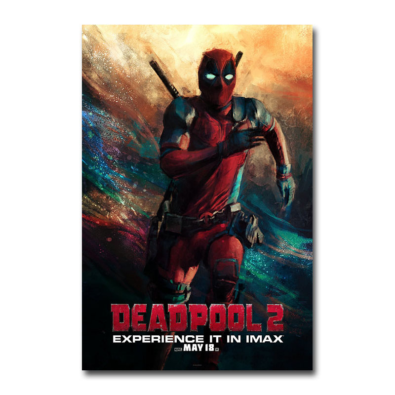Deadpool 2 Superhero Movie Film Silk Poster Wall Art Canvas Print 12x18 24x36