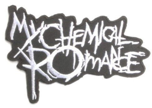 MY CHEMICAL ROMANCE Logo Music Band Embroidered NEW IRON ON and SEW ON Cool Rock Punk