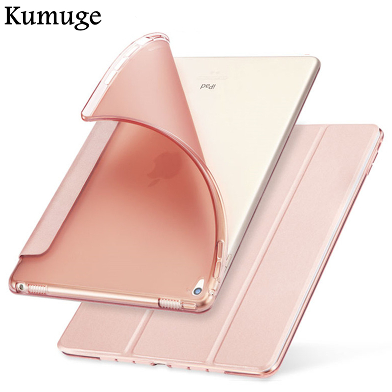 Case for New iPad Pro 10.5 2017 Release Soft TPU Silicone Back Cover for iPad 10.5 inch Tablet Flip Stand Capa Para+Film +Pen nice soft silicone back magnetic smart pu leather case for apple 2017 ipad air 1 cover new slim thin flip tpu protective case