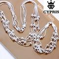 2017 cypris s063 plata al por mayor de cuentas de collar pulsera joyas de boda nupcial conjunto de joyas de plata mejor joyería