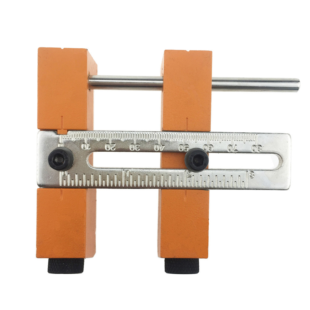Aluminium Alloy Adjustable Oblique Hole Jig for Wood Working Punch Locator with 9.5mm Puncher Woodworking Tool цена